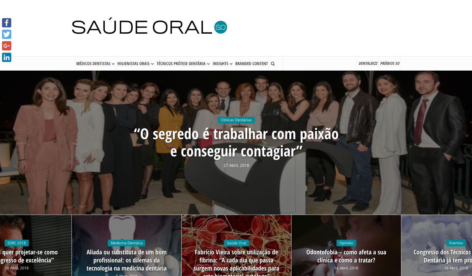 MedBone vence prémio Portugal Empreendedor